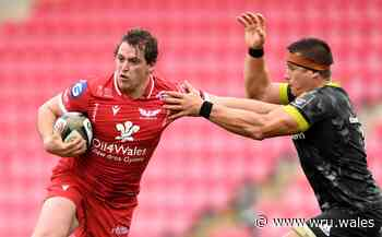 Wales hooker Elias signs new Scarlets deal - Welsh Rugby Union
