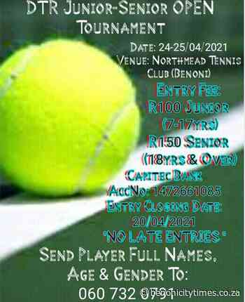 Tennis tournament begins - Benoni City Times