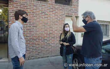 La diputada Natalia Villa conversó con comerciantes de Don Torcuato - InfoBan