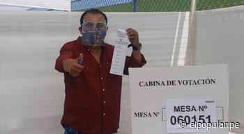 Manolo Rojas llegó a Huaral y votó en el Estadio Julio Lores Colán - ElPopular.pe