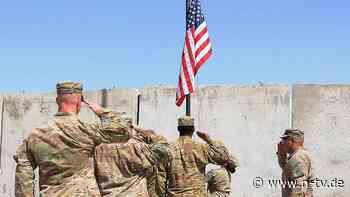 Bis zum 11. September: USA wollen Truppen aus Afghanistan abziehen