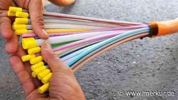 Hohe Kosten durch Glasfaserausbau in Maisach - Merkur Online