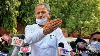 Politics being done today in name of caste, religion: Rajasthan CM Ashok Gehlot - Oneindia