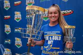 Whitney Brown takes national title in Disc Golf competition | News - SAU
