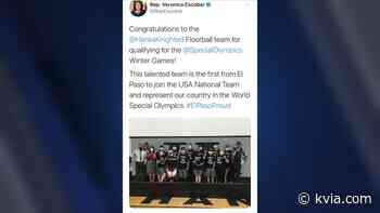 Sunday Funday Moment: Hanks floorball team is first El Paso team to join USA National Team in World Special Olympics - KVIA El Paso