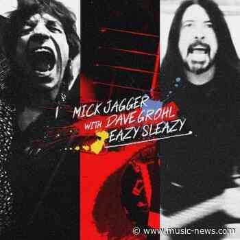 Sir Mick Jagger and Dave Grohl's new song Eazy Sleazy