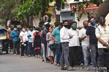 India Reels Amid Virus Surge, Affecting World Vaccine Supply - U.S. News & World Report