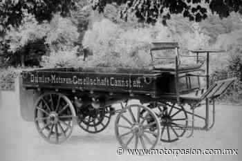 El primer camión de carga de la historia también tuvo que ver con Mercedes-Benz (Daimler) y data de 1896 - Motorpasión México