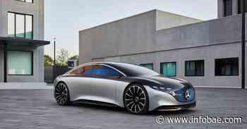 Mercedes-Benz EQS, el nuevo auto eléctrico que desafía a los vehículos Tesla de Elon Musk - infobae