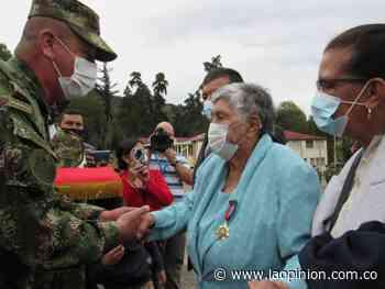 Mercedes Flórez, primera mujer en recibir la Medalla Simona Duque de Alzate | La Opinión - La Opinión Cúcuta