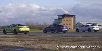 ¿Podrá el BMW M4 batir a los Mercedes-AMG C 63 y Audi RS 5 en línea recta? - Car and Driver