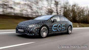Exclusiva: Conducimos el Mercedes EQS (camuflado): un rival eléctrico estratosférico para Tesla - MARCA.com