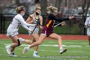 GIRLS LACROSSE: Sheehan takes control late in first half and turns tight rivalry game to rout - Meriden Record-Journal