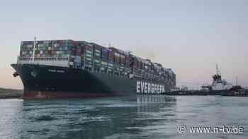 """Ever Given"" beschlagnahmt: Ägypten fordert 900 Millionen Dollar Schadensersatz"