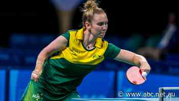 Australia's Milly Tapper targeting Tokyo Paralympics medal in table tennis - ABC News