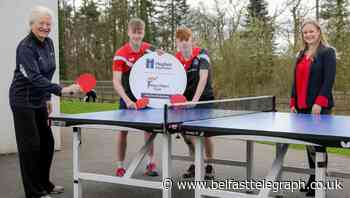Table tennis brothers the first of 10 budding sports stars to receive funding from Mary Peters Trust bursary - Belfast Telegraph