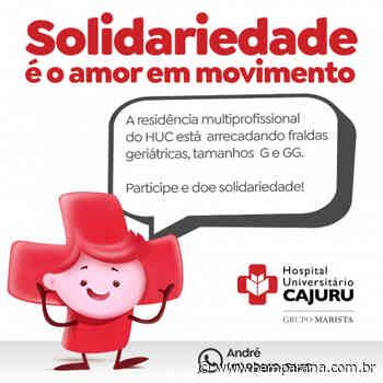 Campanha solidária arrecada fraldas geriátricas para pacientes idosos no Cajuru - Bem Paraná