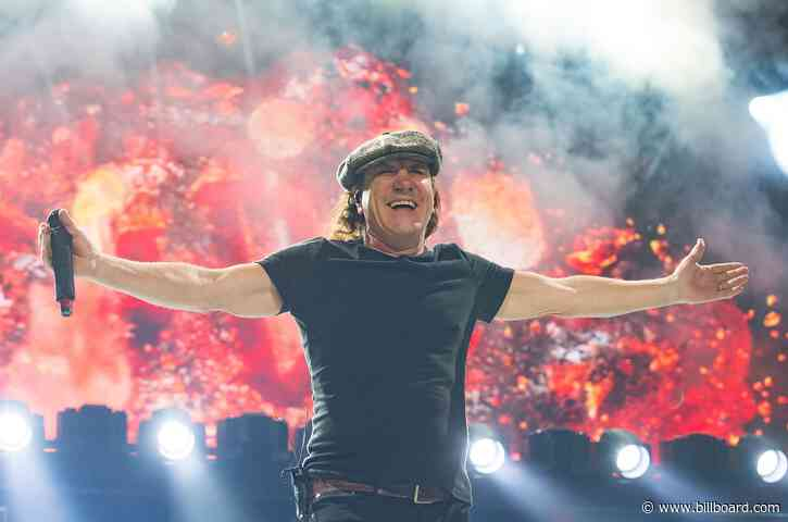 AC/DC's Brian Johnson to Release Memoir This Fall