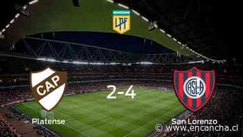 San Lorenzo gana a Platense en el Ciudad de Vicente Lopez (4-2) - EnCancha.cl