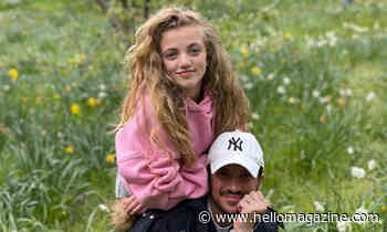 Peter Andre shares natural snaps of daughter Princess after controversial makeup post