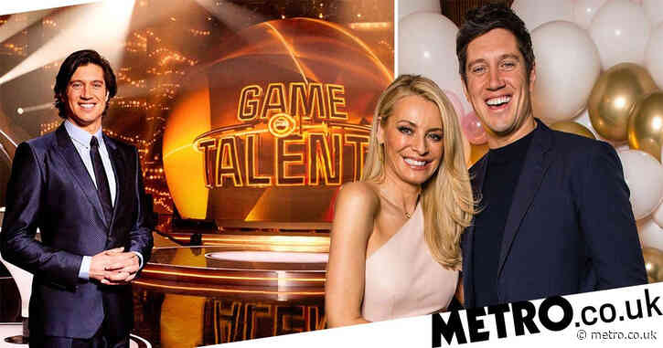 Vernon Kay had to be separated from Tess Daly yet again while filming new ITV show Game of Talents