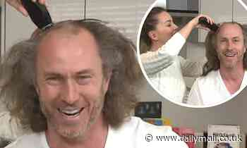 Loose Women: Ola and James Jordan shave his head in honour of his father who died from brain tumour