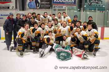 Tignish Aces cap strong finish to 2020-21 season with another P.E.I. junior C title - Cape Breton Post