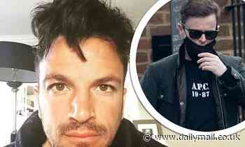 Peter Andre reveals his home was broken into THREE times in ONE night with robbers taking jewellery