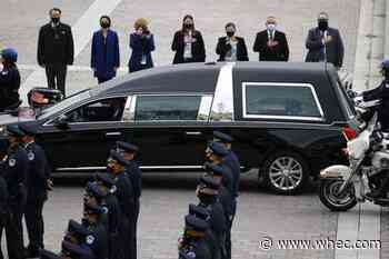 Biden eulogizes slain officer as Capitol Police mourn again