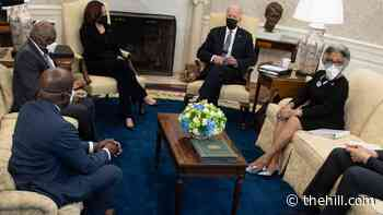 Black lawmakers press Biden on agenda at White House meeting
