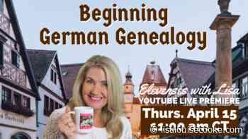 10 Top Tips for Beginning German Genealogy