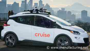 GM's Cruise to Operate All-Electric, Driverless Cars in Dubai - Manufacturing.net