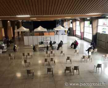 Le centre de vaccination d'Eybens emménage à la salle des fêtes pour augmenter sa capacité - Place Gre'net