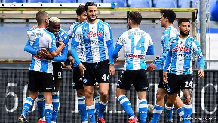 Napoli in stile Real Madrid: tifo virtuale TikTok per la sfida all'Inter - la Repubblica
