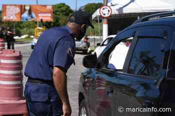 Maricá: Barreiras sanitárias impedem a entrada de mais de 10 mil veículos neste sábado - Maricá Info - RJ