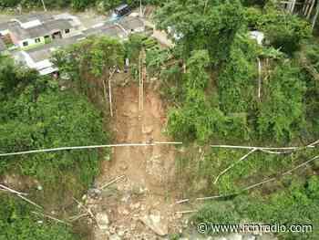 Deslizamiento por lluvias dejó sin servicio de agua a San Vicente de Chucurí (Santander) - RCN Radio