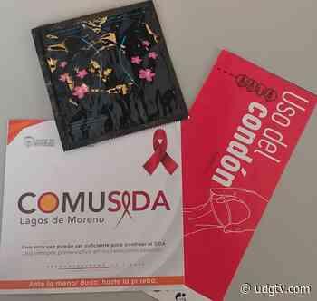 COMUSIDA Lagos de Moreno invita a los ciudadanos a acudir por su dote de preservativos - UDG TV - UDG TV