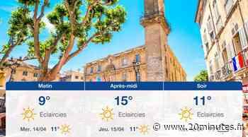 Météo Aix-en-Provence: Prévisions du mardi 13 avril 2021 - 20minutes.fr