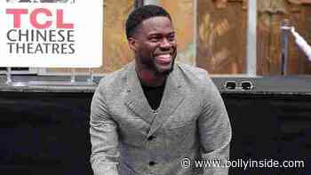 Hollywood: Kevin Hart cradles his baby girl Kaori, 6 months, in his arms while working at home: see Sweet Pic - BollyInside