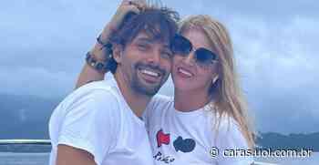 Val Marchiori celebra 2 anos de namoro com Thiago Castilho: Você me completa - CARAS Brasil
