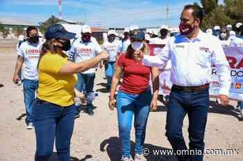 Recibe Juan Carlos Loera apoyo de los ciudadanos de Nuevo Casas Grandes - Omnia