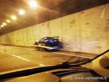 Sesto Calende, incidente in galleria in autostrada: trentaquattrenne finisce al pronto soccorso - VareseNoi.it