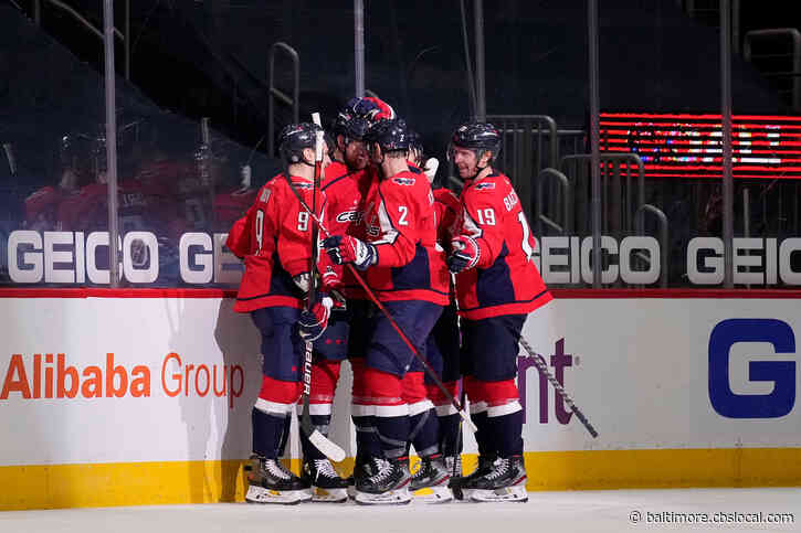 Mantha Shines In Debut, Ovechkin Scores As Caps Rout Flyers