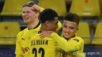 Dortmund Europe's best club for young players; Tottenham, Inter Milan among worst - CIES study - ESPN India