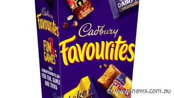 Last choc left in the Favourites box