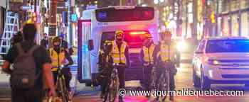 Plus de policiers que de manifestants
