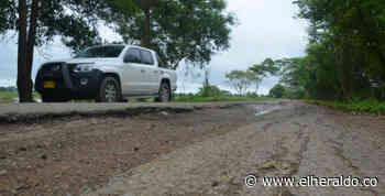Destinan recursos para vías en zona rural de Tierralta, Córdoba - EL HERALDO