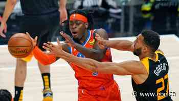 Canadian Luguentz Dort explodes for career-high 42 points in Thunder loss