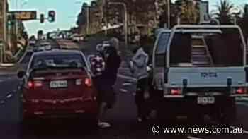 Road rage footage shows western Sydney highway brawl - NEWS.com.au