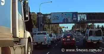 Alleged road rage turns violent on major Sydney road - 9News